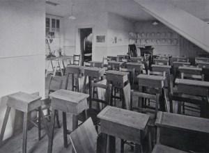 The Studio, the original Art room at Newcastle High School.