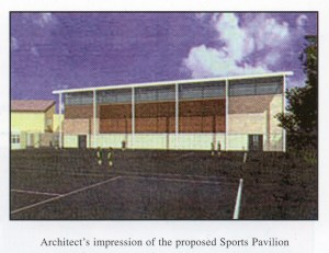 Artist's Impression of Sport's Hall