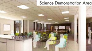 NHSG Science Demonstation Area