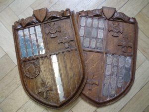 The 'Tennis Shield' played for by the four high schools. As I understand it, Church High were awarded the original one outright when a second had to be made.