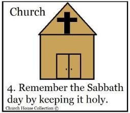 Image result for clipart Remember the Sabbath Day to keep it holy public domain