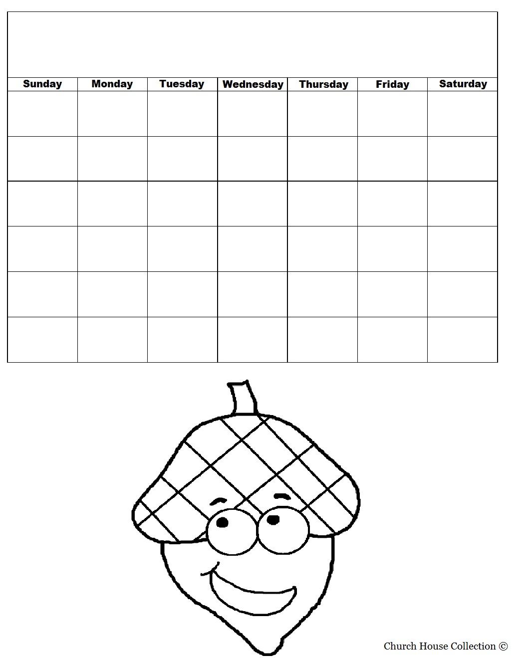 Acorn Holding Bible Calendar
