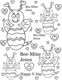 Christian Valentines Day Coloring Pages – Valentine\'s Day Info