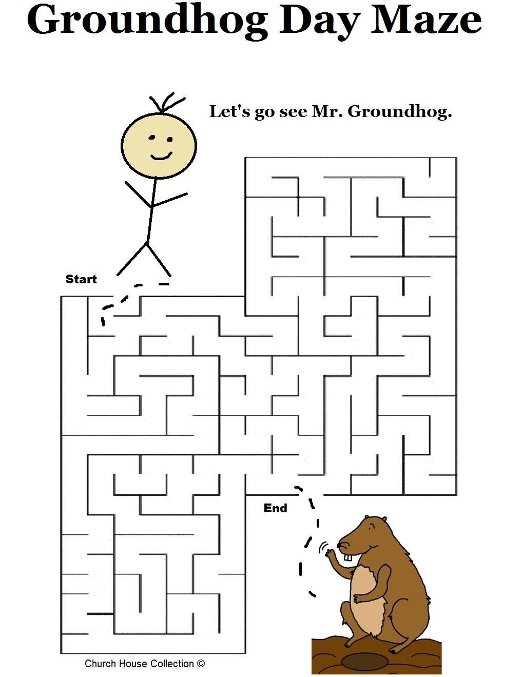 Groundhog D Y M Zes School