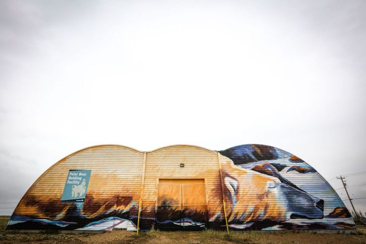 Sea Walls Churchill boosts spirits, raises awareness of