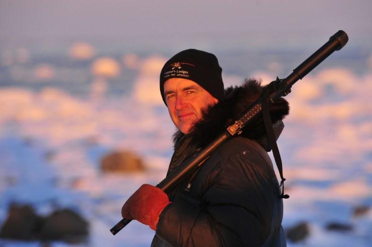 Churchill Wild co-founder Mike Reimer, winner of the 2018 Travel Manitoba Award of Distinction.