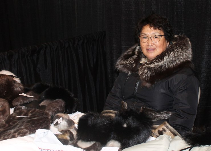 Seamstress Annie Petaulassie was named the territory's best stitcher by online voters in a Nunavut News contest last year. Well done Annie!