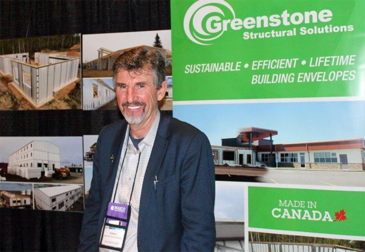 Ed Dornn, President, Greenstone Structural Solutions.