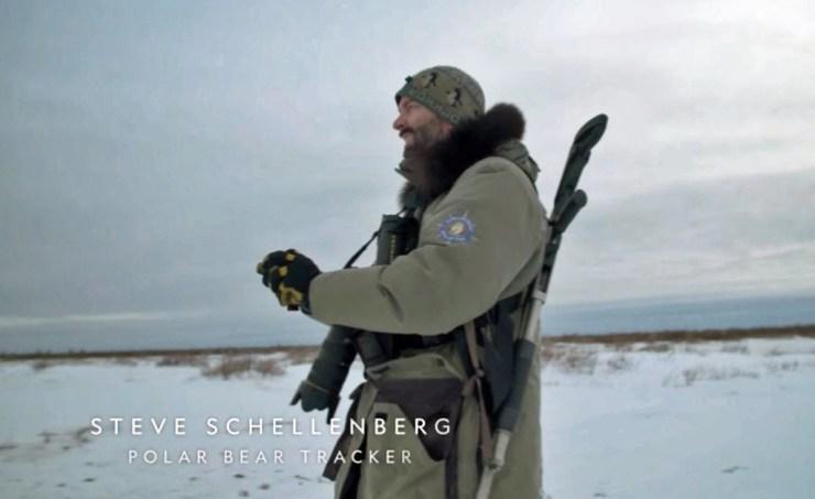 Steve Schellenberg. Polar Bear Tracker. NatGeo/Churchill Wild. Click image for video.