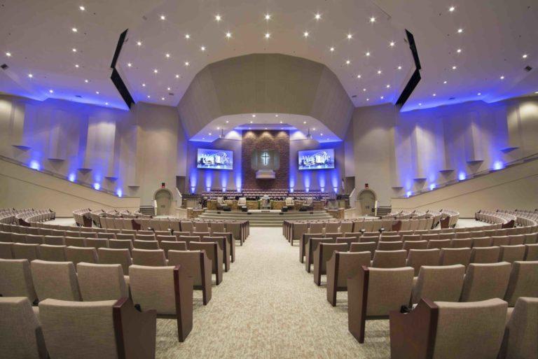 church lighting for sanctuary