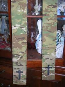 Camouflage Stoles
