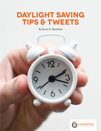 Daylight Saving Time Tips & Tweets for Your Church