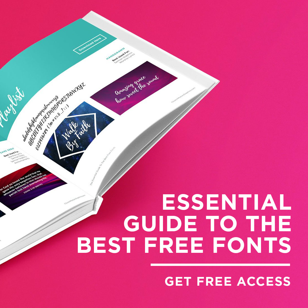 The Essential Guide To The Best Free Fonts