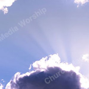 Cloudy Skies V6 Christian Worship Background. High quality worship images for use to spread the Gospel and enhance the worship experience.