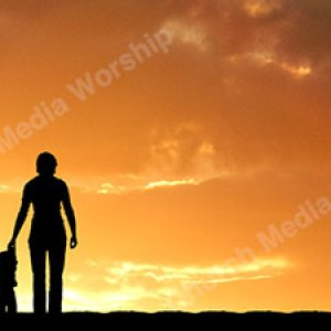 Family in Worship V5 Christian Worship Background. High quality worship images for use to spread the Gospel and enhance the worship experience.