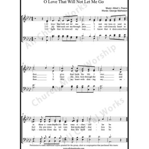 Godly Love Sheet Music (SATB) Make unlimited copies of sheet music and the practice music.