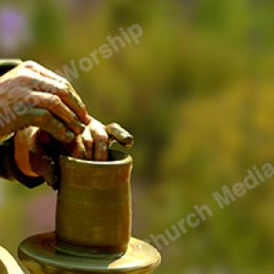 I am the Potter Garden Christian Worship Background. High quality worship images for use to spread the Gospel and enhance the worship experience.