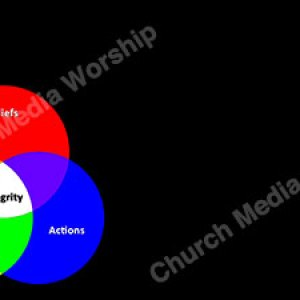 Integrity black Christian Worship Background. High quality worship images for use to spread the Gospel and enhance the worship experience.