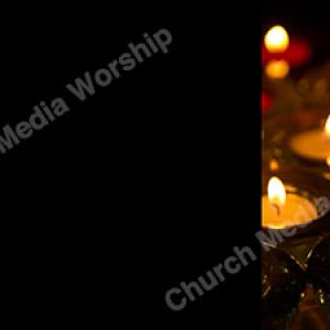 Multiple candle V1 Black Christian Worship Background. High quality worship images for use to spread the Gospel and enhance the worship experience.