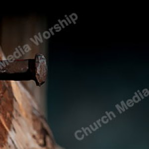 Nailed To The Tree V14 Christian Worship Background. High quality worship images for use to spread the Gospel and enhance the worship experience.