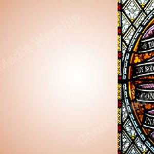 Psalm 23 Peach Christian Worship Background. High quality worship images for use to spread the Gospel and enhance the worship experience.