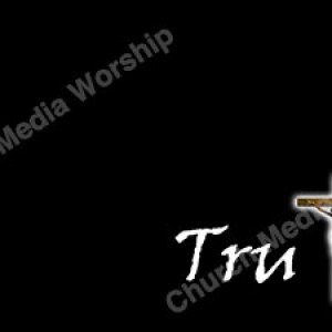 Truth Wood Cross Christian Worship Background. High quality worship images for use to spread the Gospel and enhance the worship experience.