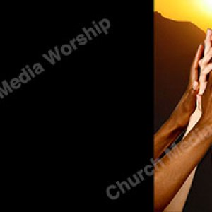 We are One black background Christian Worship Background. High quality worship images for use to spread the Gospel and enhance the worship experience.