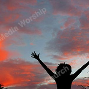 Woman in worship V52 Christian Worship Background. High quality worship images for use to spread the Gospel and enhance the worship experience.