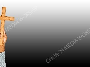 African American child holding wood cross - BandW Christian Worship Background. High quality worship images for use to spread the Gospel and enhance the worship experience.