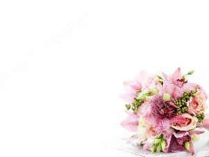 Bouquet-Wedding-Pink-flowers Christian Worship Background. High quality worship images for use to spread the Gospel and enhance the worship experience.