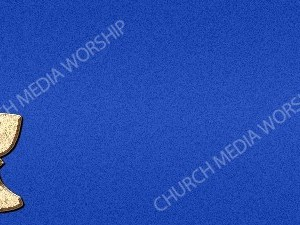 Chalice Symbol Blue Christian Background Images HD