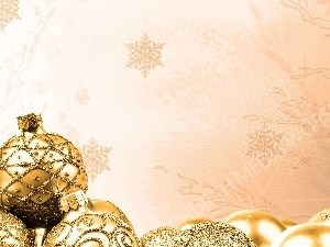 Christmas Golden Royalty Bulbs with snowflake matte Christian Worship Background. High quality worship images for use to spread the Gospel and enhance the worship experience.