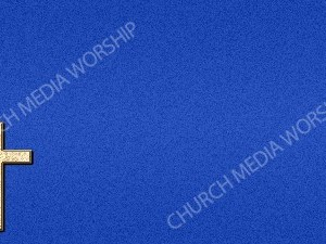 Cross Symbol - Blue Christian Background Images HD