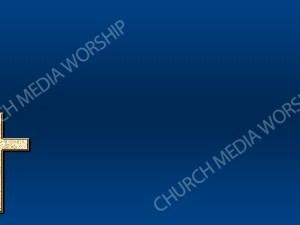 Cross Symbol - Deep Blue Christian Background Images HD