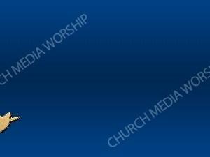 Dove Symbol - Deep Blue Christian Background Images HD