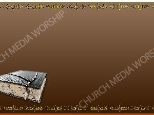 Golden Frame - Bible with Beads - Bronze Christian Background Images HD