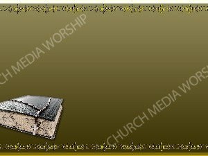 Golden Frame - Bible with Beads - Gold Christian Background Images HD
