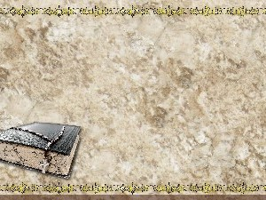 Golden Frame - Bible with Beads - Stone Christian Background Images HD