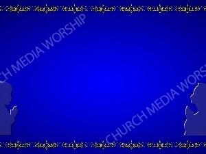 Golden Frame - Children Praying - Blue Christian Background Images HD