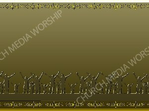 Golden Frame - Family Worship- Gold Christian Background Images HD