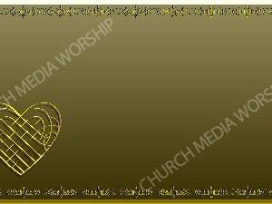 Golden Frame - Heart - Gold Christian Background Images HD