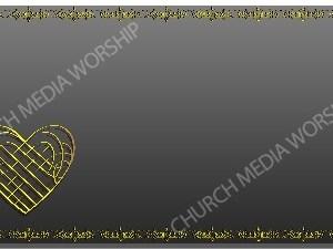 Golden Frame - Heart - Platinum Christian Background Images HD