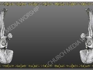 Golden Frame - Stone Angels - Platinum Christian Background Images HD