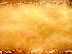 Ribbon frame over papyrus Christian Worship Background. High quality worship images for use to spread the Gospel and enhance the worship experience.