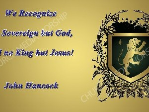 John Hancock quote V1 Christian Worship Image. High quality worship images for use to spread the Gospel and enhance the worship experience.