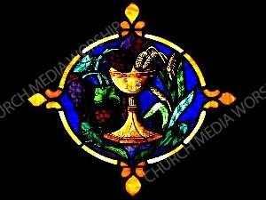 Lord's Supper Christian Worship Image. High quality worship images for use to spread the Gospel and enhance the worship experience.