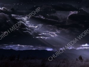 Wise men following the star Christian Worship Image. High quality worship images for use to spread the Gospel and enhance the worship experience.