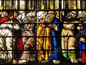 pentecost stained glass Christian Worship Image. High quality worship images for use to spread the Gospel and enhance the worship experience.