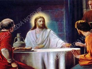 Road to Emmaus Christian Worship Image. High quality worship images for use to spread the Gospel and enhance the worship experience.