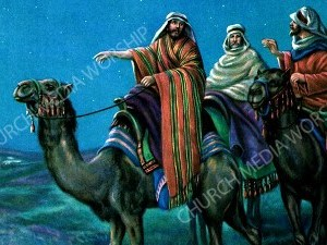 Wise men Christian Worship Image. High quality worship images for use to spread the Gospel and enhance the worship experience.
